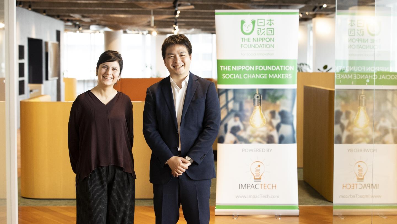 日本財団 花岡隼人氏とImpacTech Japan ファラ・タライエ氏